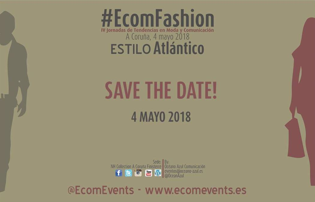 Save the date 4 mayo